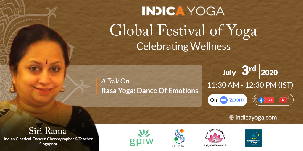 Day 13 Session 02: A Talk On Rasa Yoga: Dance of Emotions by Sri Rama