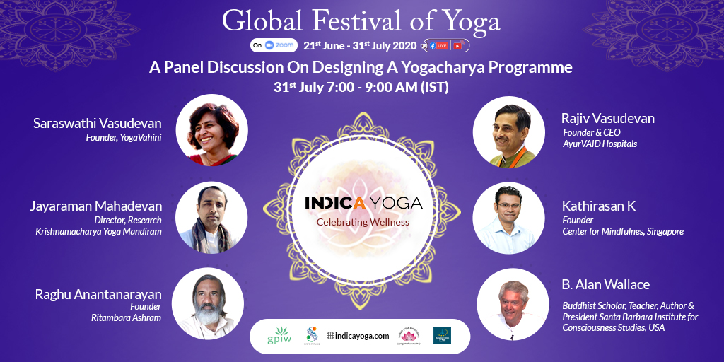 Day 41 session 1: A Panel Discussion On Designing A Yogacharya Programme